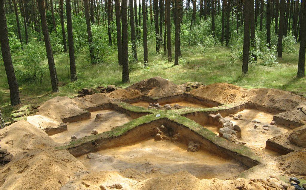 Archeologiniai tyrimai - Svironys 4