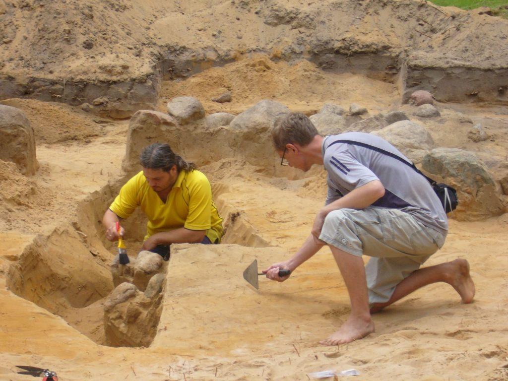 Archeologiniai tyrimai - Svironys 3