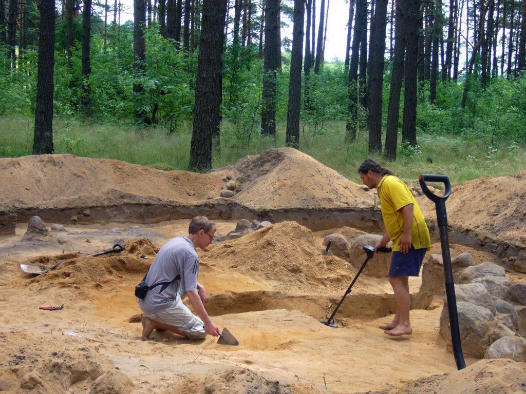 Archeologiniai tyrimai - Svironys 2