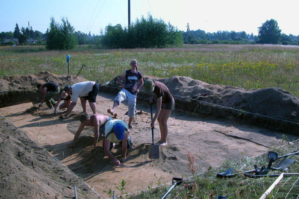 Archeologiniai tyrimai - Viešvilė 6
