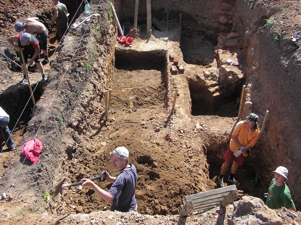 Archeologiniai tyrimai - Trakai 1