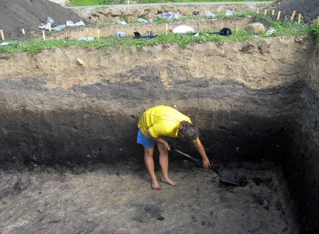 Archeologiniai tyrimai - Lepelionys 4
