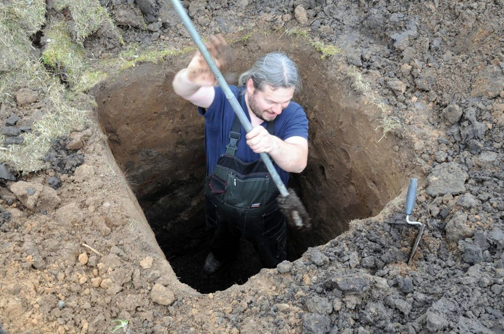 Archeologiniai tyrimai - Telšiai 3