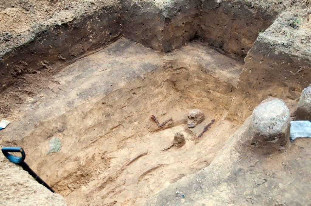 Archeologiniai tyrimai - Kazikėnai 2