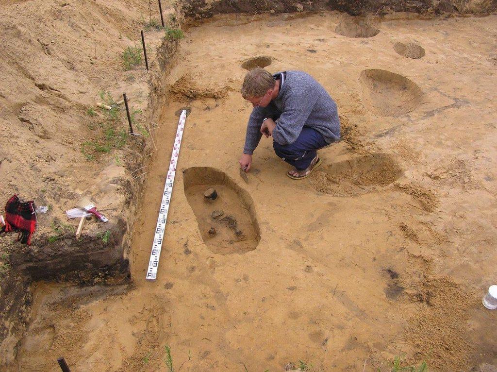 Archeologiniai tyrimai - Viešvilė 12