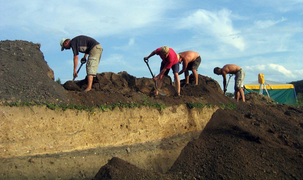 Archeologiniai tyrimai - Lepelionys 2