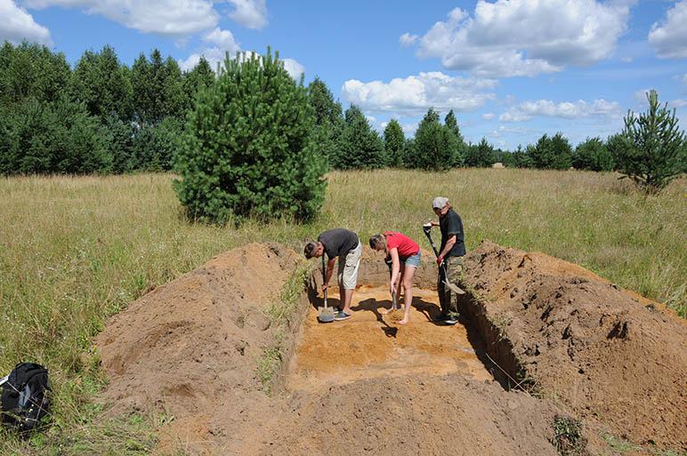Archeologiniai tyrimai - Pagulbiniai 4