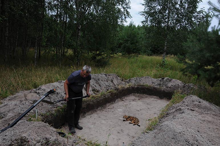 Archeologiniai tyrimai - Pagulbiniai 1