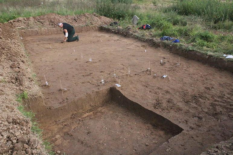 Archeologiniai tyrimai - Alytus - Kruonis 3
