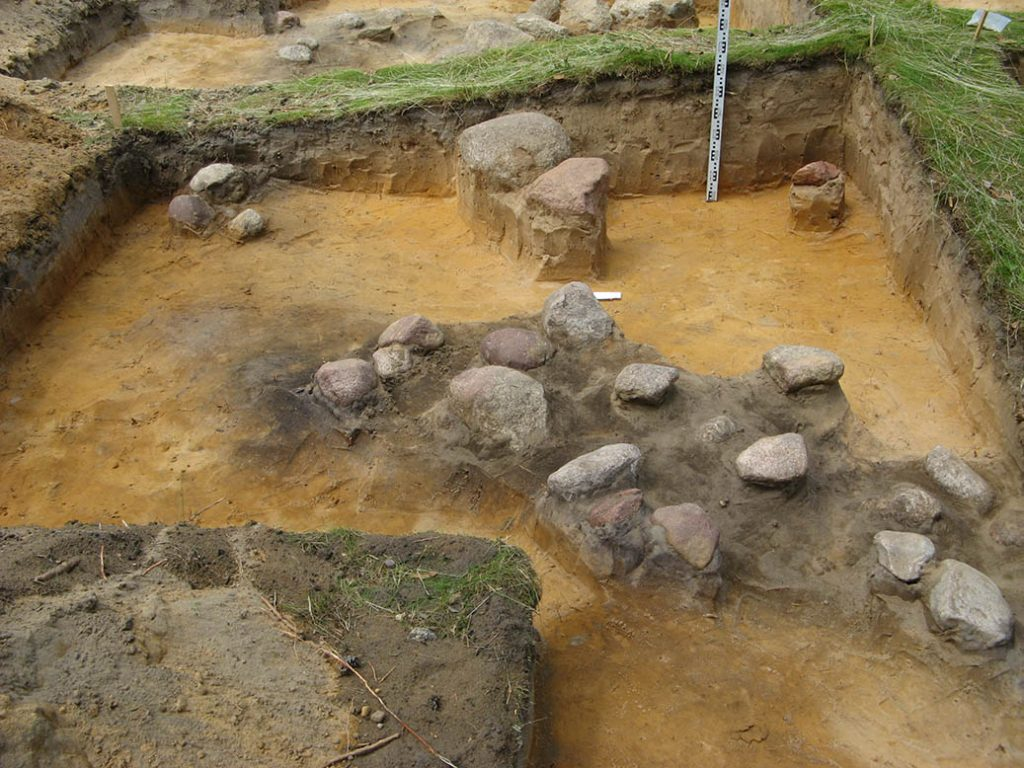 Archeologiniai tyrimai - Svironys 1
